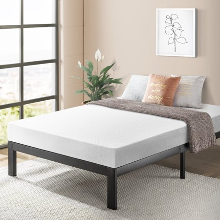 Best Price Mattress 8 Inch Memory Foam Mattress and Model E Heavy Duty Steel Frame Set, Multiple (Best Model Home Designs)