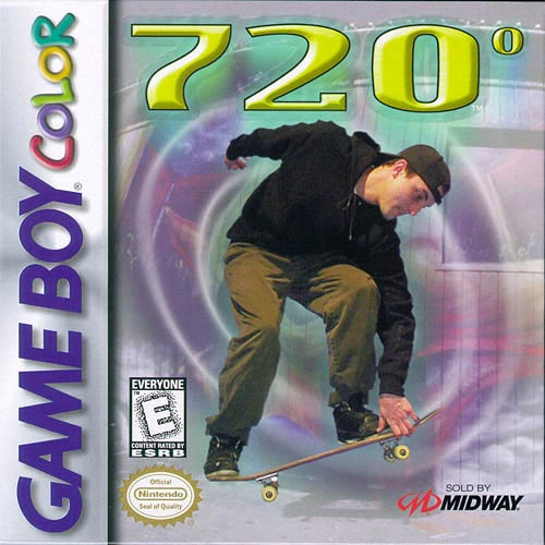 720 Skateboarding Game Boy Color