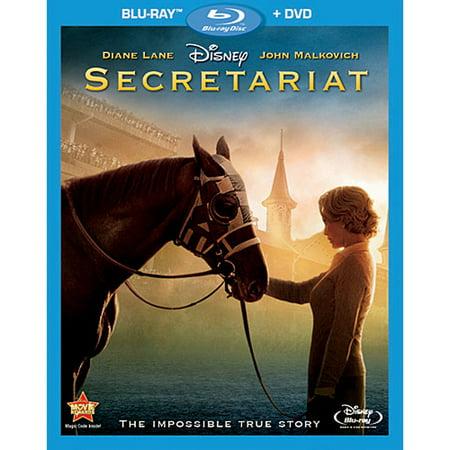 10c Dvd - Secretariat (Blu-ray + DVD)