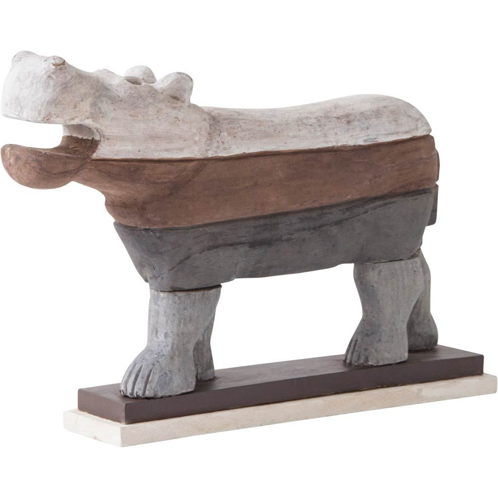 Mercana Global Curiosities Statue With Brown Finish 57650