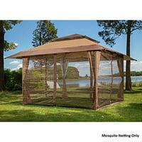 10' x 10' mosquito netting panels for gazebo canopy