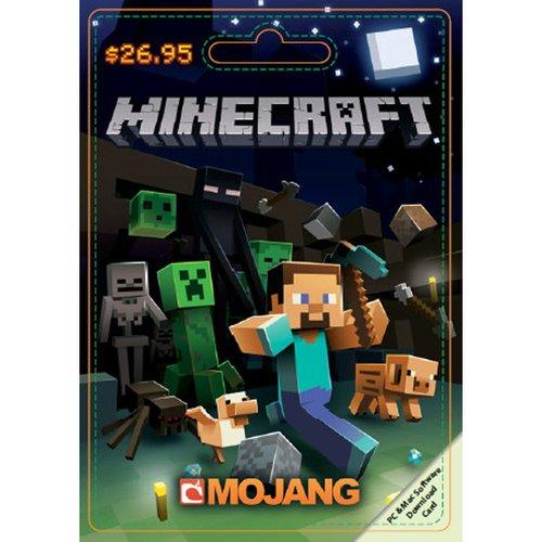 Mojang Minecraft $26.95 Game Card
