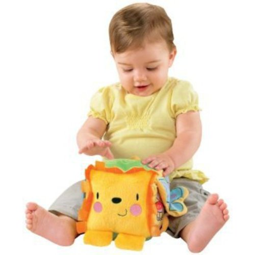 Fisher-Price - Lion Activity Block