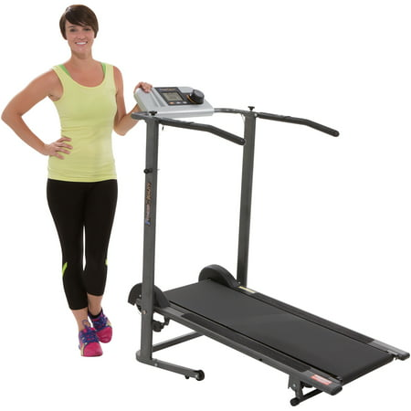 Fitness Reality Tr3000 Maximum Weight Capacity Manual Treadmill With Pacer Control And Heart Rate System