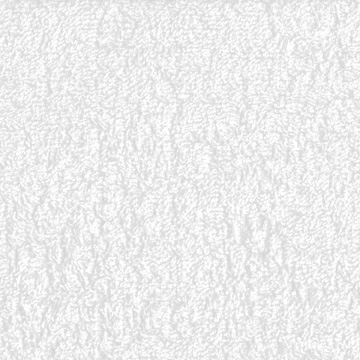 "David Textiles Cotton Terrycloth 36"" x 44"" Wide White Fabric, 1 Each"