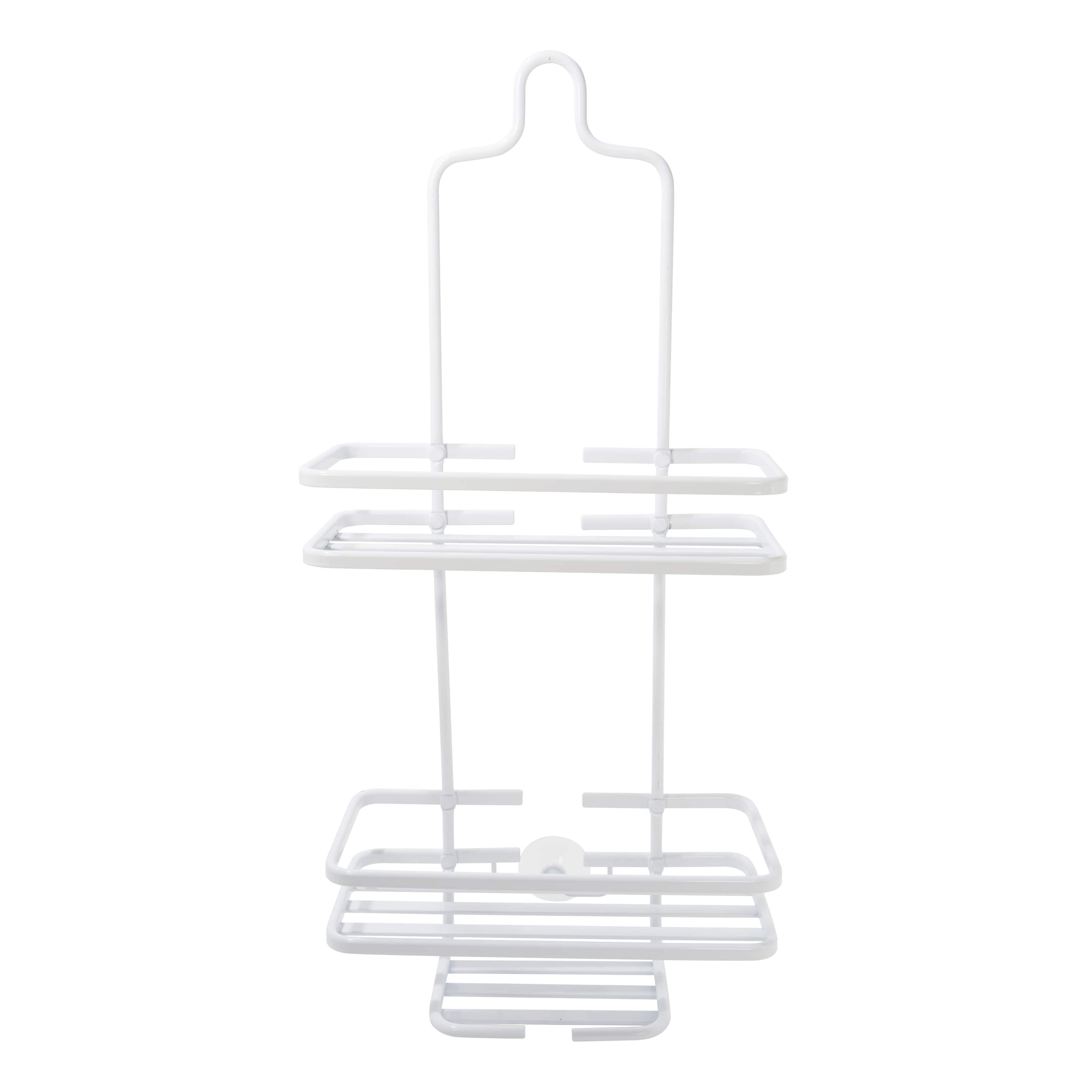 Bath Bliss Aluminum Shower Caddy, White by Kennedy International, INC.