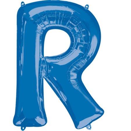 Giant Balloon Letters (Giant Blue Letter R Foil Balloon)