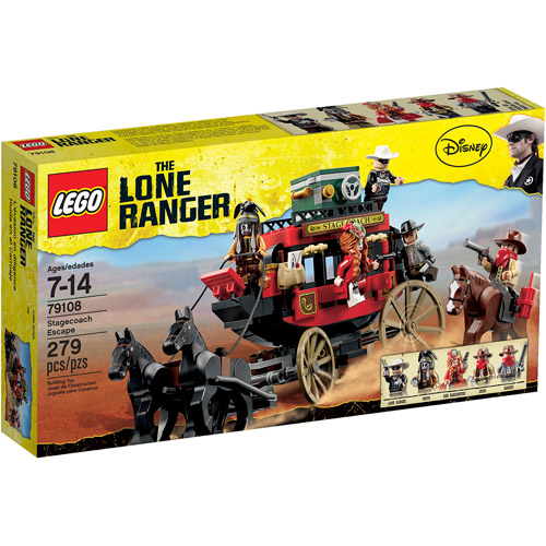 LEGO Lone Ranger Stagecoach Escape Play Set