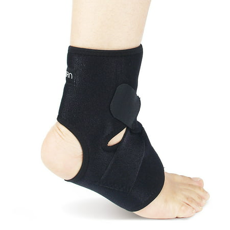 Astorn Ankle Brace & Achilles Tendon Support Sleeve | Adjustable One Size Fits All Ankle Support Wrap for Plantar & Achilles Support | Breathable Neoprene Tendinitis Ankle Brace (Achimed Achilles Tendon Support)