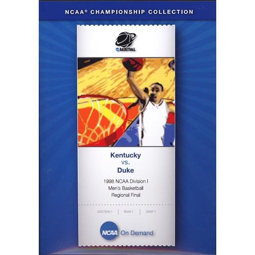 1998 NCAA Division I Men's Basketball Regional Final: Kentucky Vs. Duke