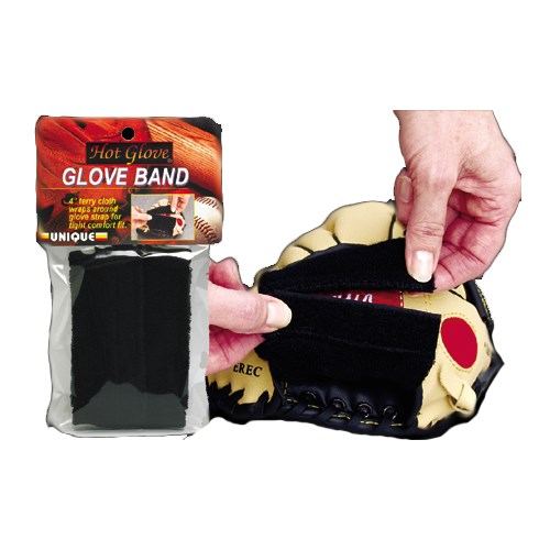 Unique Sports Baseball Mitt Softball Glove Band Washable And Reuseable HGB-BK by Unique Sports