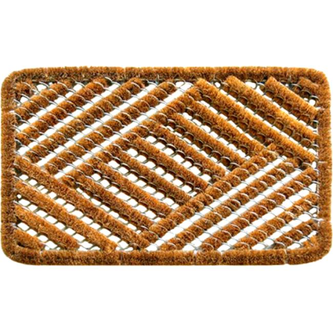 Imports Decor 851SDM Overlapping Cross Hatch Contemporary Doormat