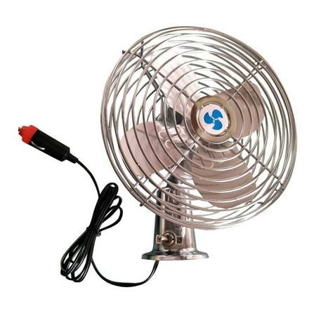 ALEKO Deluxe Metal Fan - 6 Inches - 12V](Car Fangs)