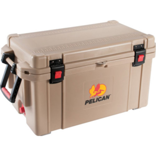 Pelican 65Q-OC Tan Elite Cooler