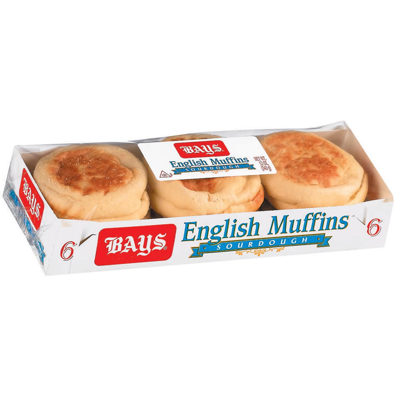 Bays® Sourdough English Muffins 12 oz. Pack