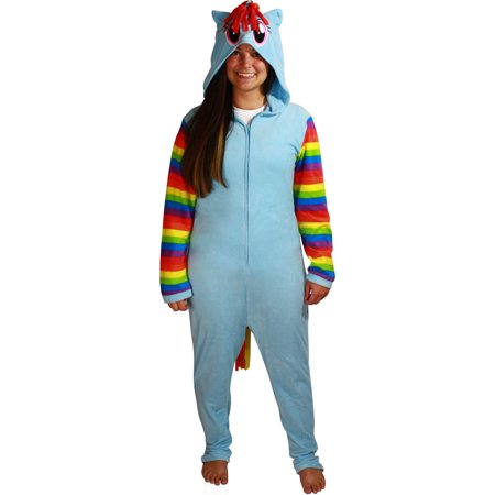 My Little Pony Rainbow Dash Adult Cosplay Union Suit