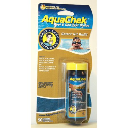Pool And Spa Test Strips - Aquachek Select 541640 Swimming Pool Spa 7 in 1 Test Strips Refill