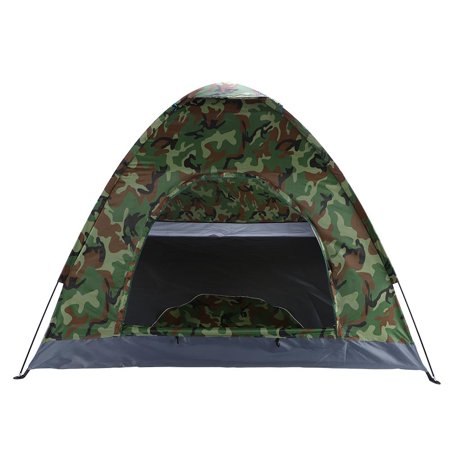 Camo Cami - Ktaxon Family Instant Automatic Pop Up Camping Hiking 3-4 Person Tent Camo Outdoor