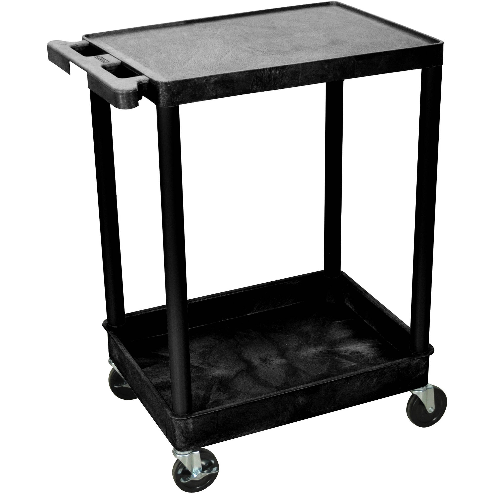 Luxor Flat Top and Tub Bottom Shelf Cart
