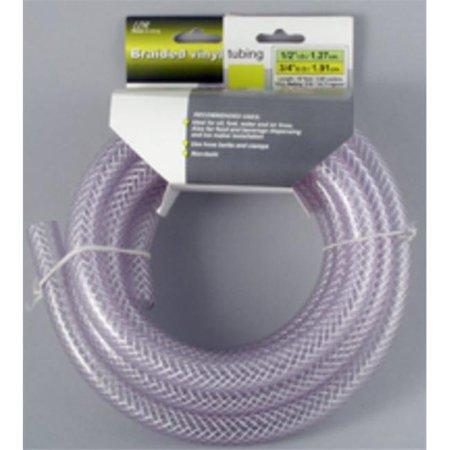 LDR 516 B1210 Braided Nylon Tubing, 1/2