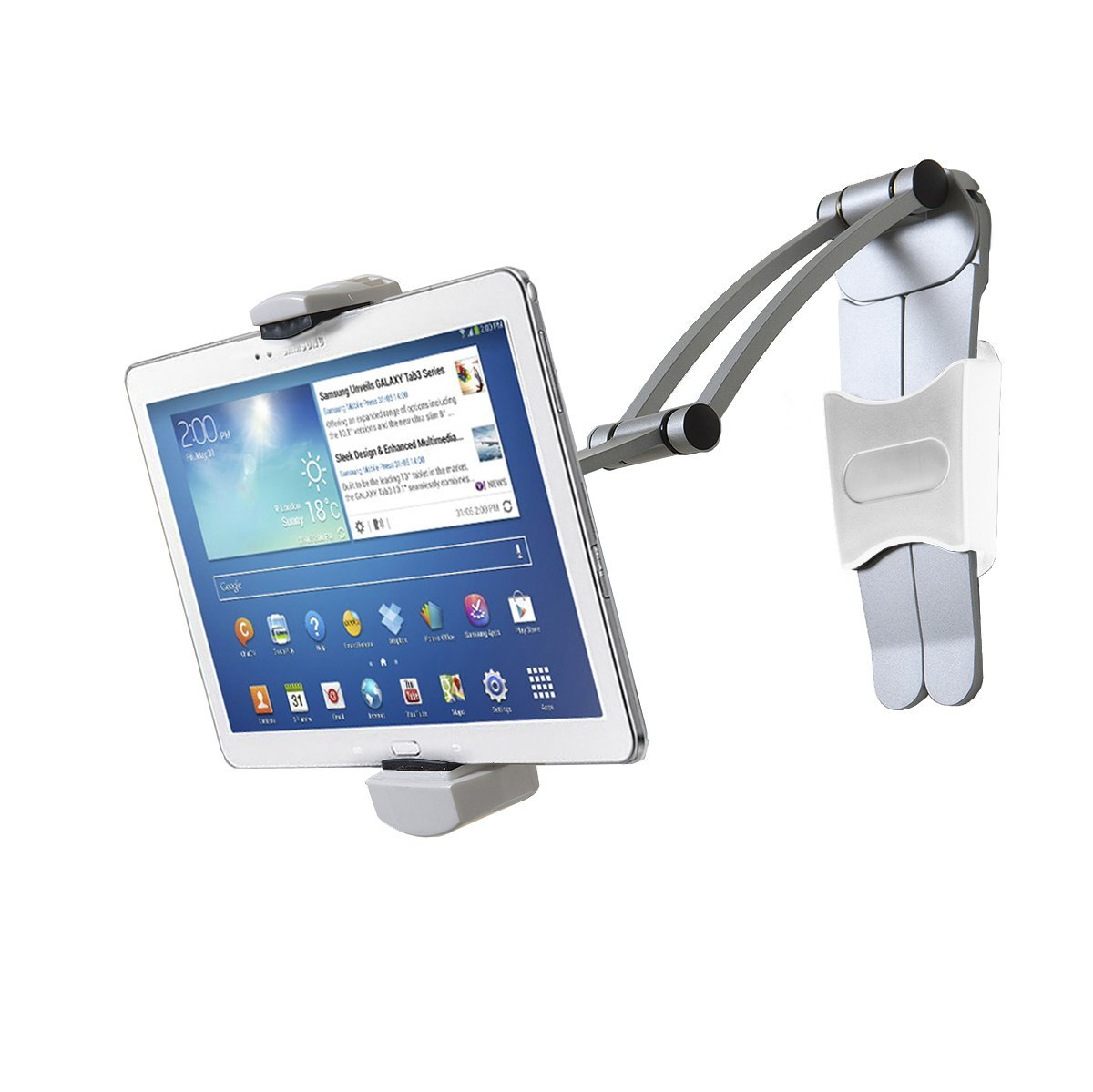 CTA Digital 2 In 1 Kitchen Mount Stand For 7 13 Inch Tablets / IPad Air/  IPad Pro 12.9 / Surface Pro (PAD KMS)   Walmart.com