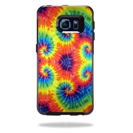 MightySkins Protective Vinyl Skin Decal for OtterBox Symmetry Galaxy S6 Edge Case wrap cover sticker skins Tie Dye 2