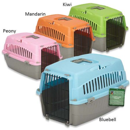 Crate Handle (Cruising Companion Carry Me Dog Crate with Handle Medium, Blue)