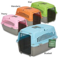 Cruising Companion Carry Me Dog Crate with Handle Medium, Blue
