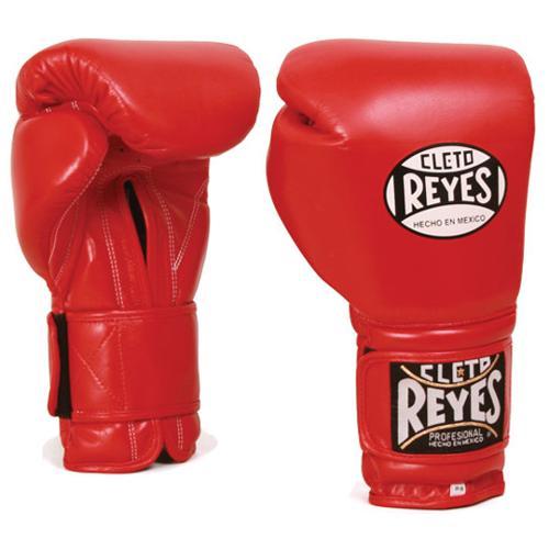 Cleto Reyes Extra Padding Leather Training Gloves - 14 oz - Red
