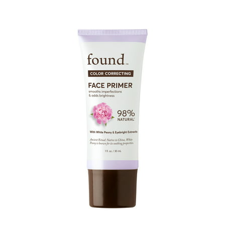 FOUND COLOR CORRECTING Face Primer with White Peony and Eyebright Extract, 1 fl