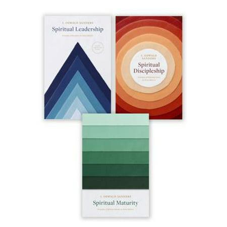 Spiritual Leadership, Spiritual Discipleship, Spiritual Maturity Set of 3 Sanders books - eBook ()