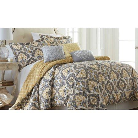 Image of 200 Thread Count 100% Cotton 6-piece comforter set Shana Queen