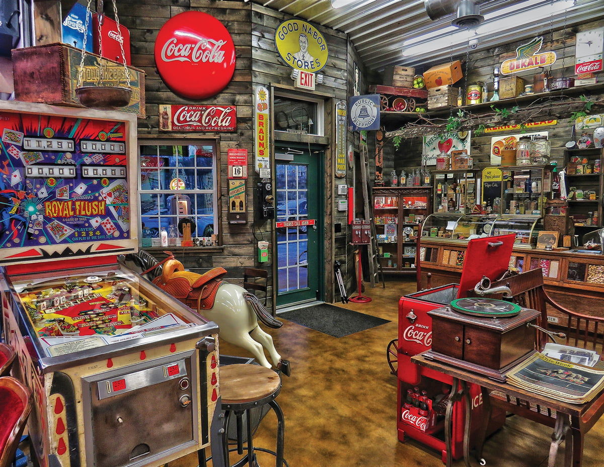 Good Nabor Stores 500 Piece Jigsaw Puzzle by Springbok Puzzles