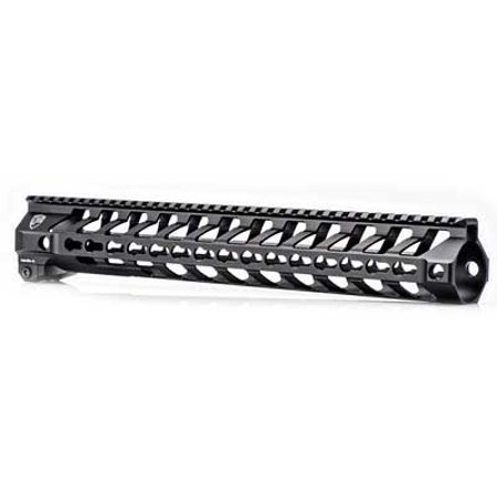 Fortis Manufacturing  Inc  Switch 556 Rail System  14   Continuous Picatinny Top Rail  Keymod At 3 6 9 Oclock  Black New