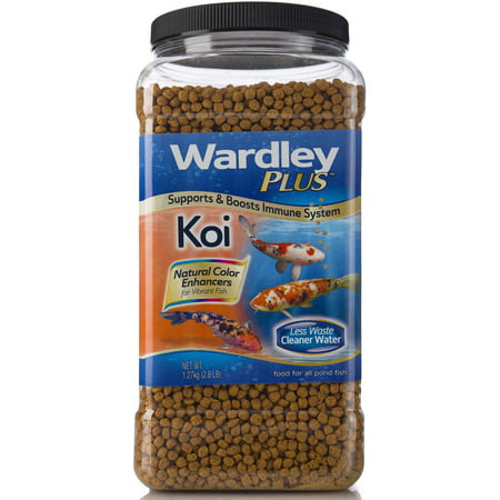 Wardley Premium Koi Fish Food, 2.8lbs