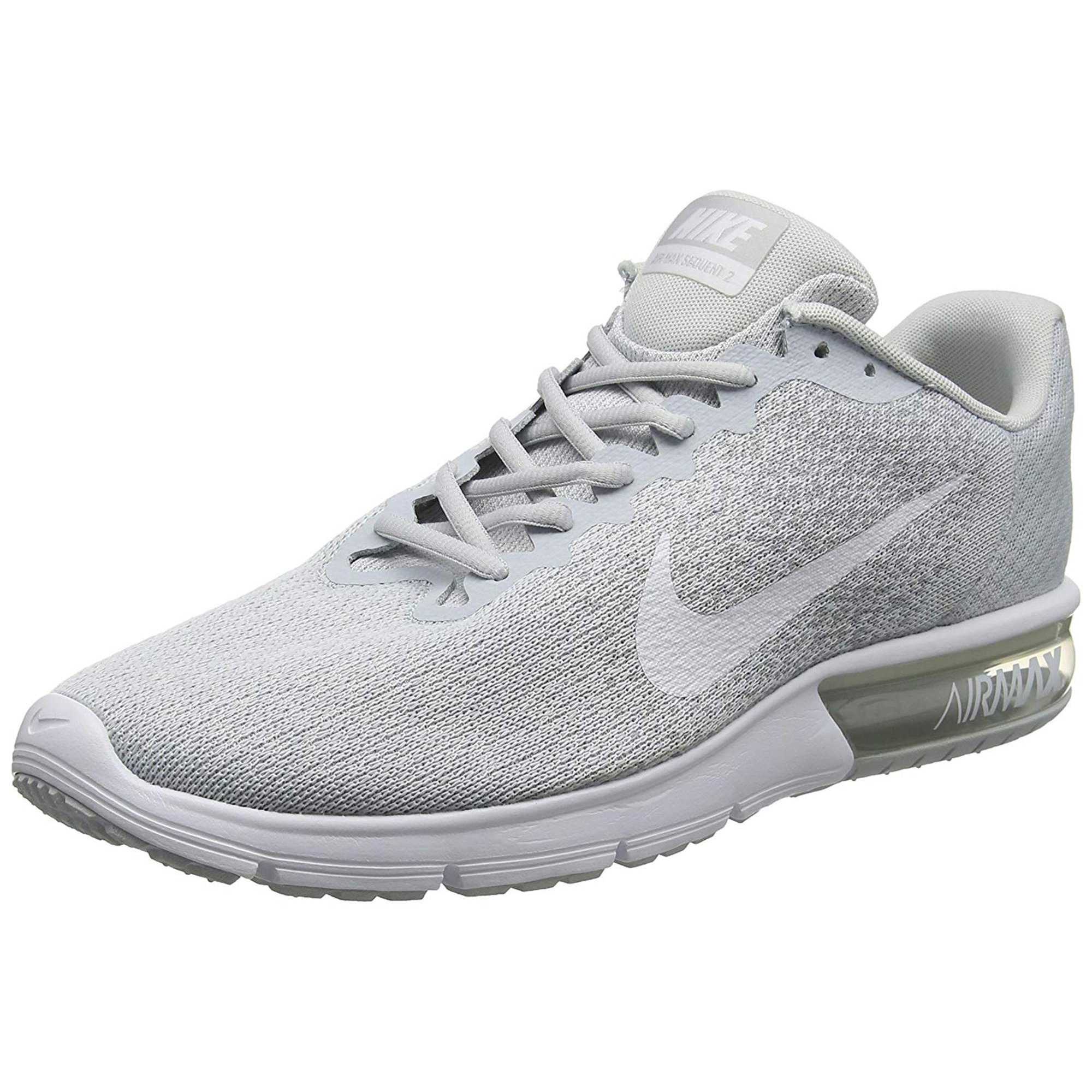 a23be62129729 Mens Nike Air Max Sequent Low Top Lace Up Trail Running Shoes ...