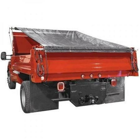 TruckStar Dump Tarp Roller Kit - 5ft. x 12ft. Mesh Tarp, Model# DTR5012