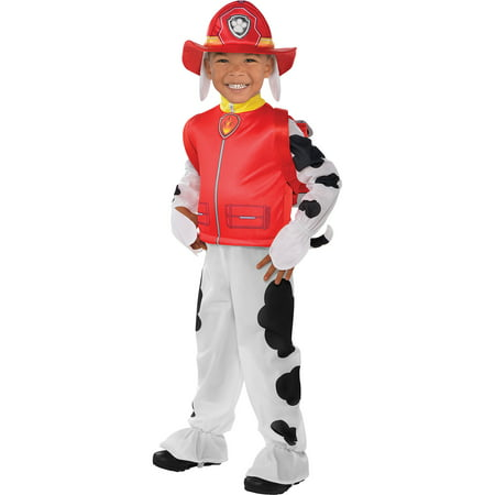 Amscan Paw Patrol Marshall Halloween Dalmatian Costume for Toddler Boys, 2T, with Included