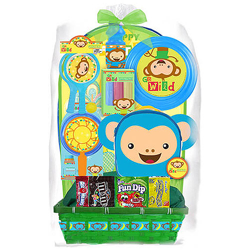 Megatoys Monkey Easter Basket