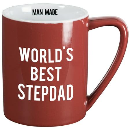 World's Best Stepdad Coffee Mug - 18 Ounce 4.5