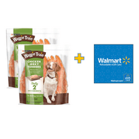 Bundle and Save! Purina Waggin' Train Chicken Jerky Tenders Dog Treats (2 Units) with $10 Gift Card
