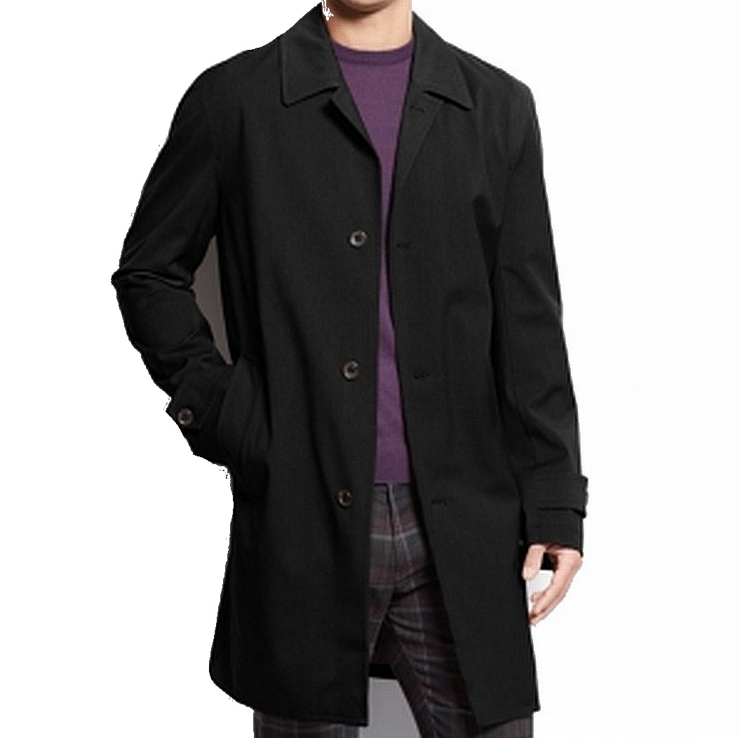Michael Kors Men's Single Breasted Trench Coat