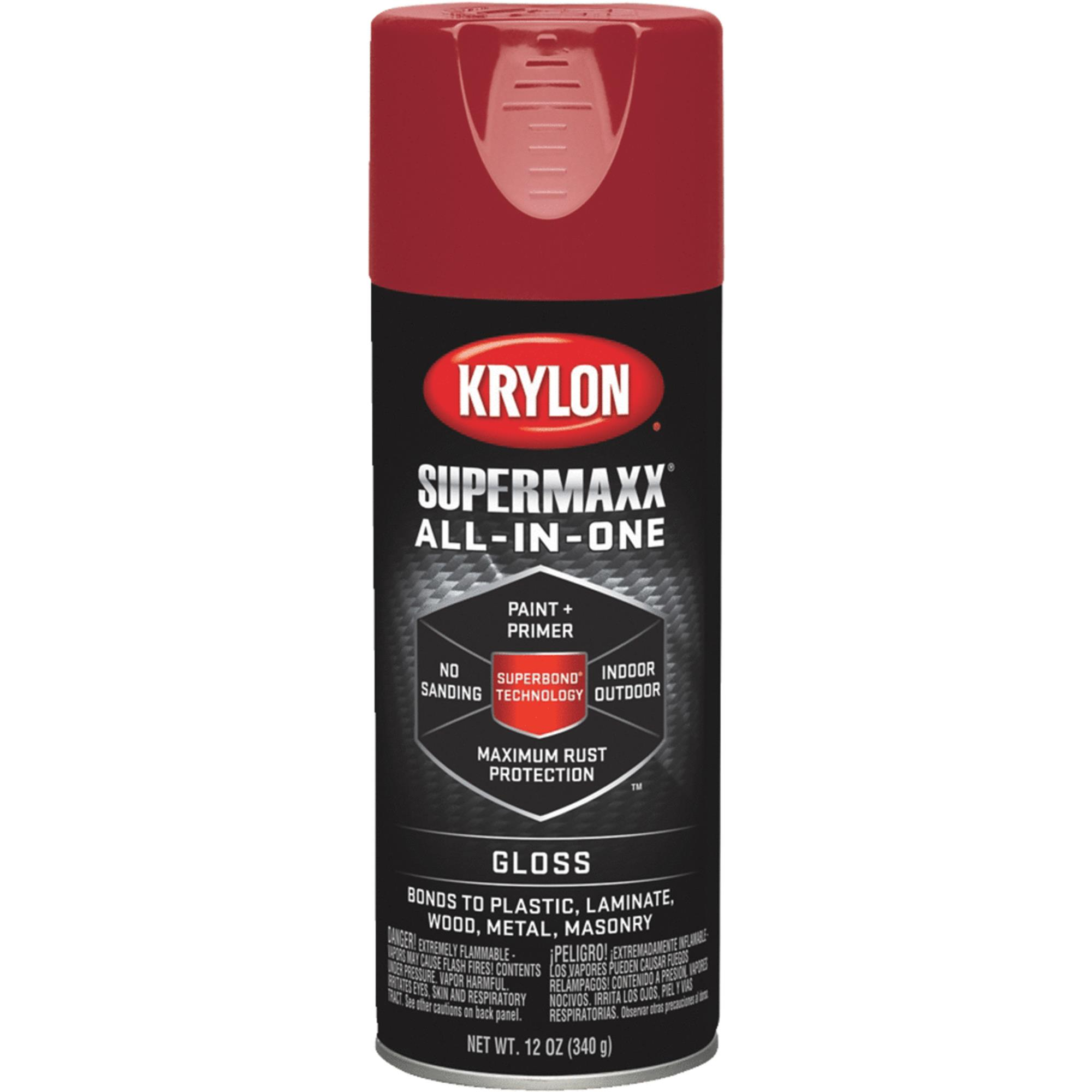 Krylon Supermaxx Gloss, Cherry Red