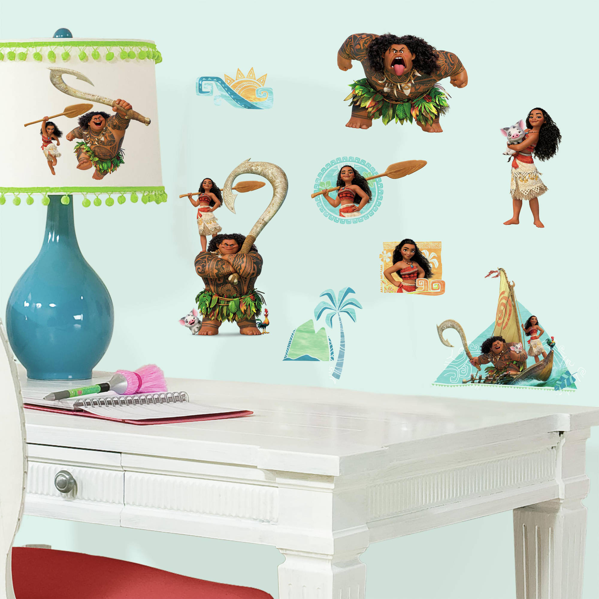 Wonderful Disney Moana Peel And Stick Wall Decals Part 26