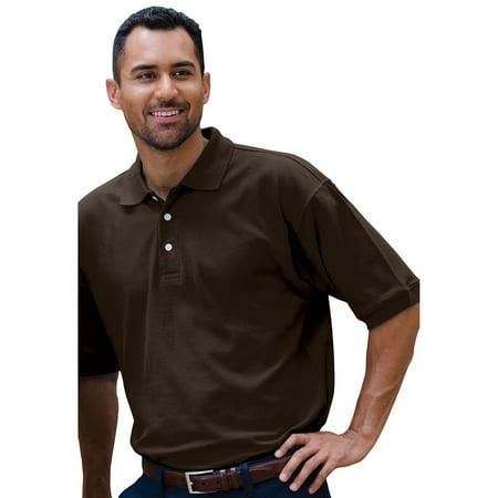 Jonathan Corey Mens Fine Pima Pique Polo Shirt