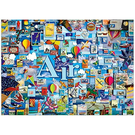 Cobble Hill Air 1000 Piece Collage Jigsaw Puzzle
