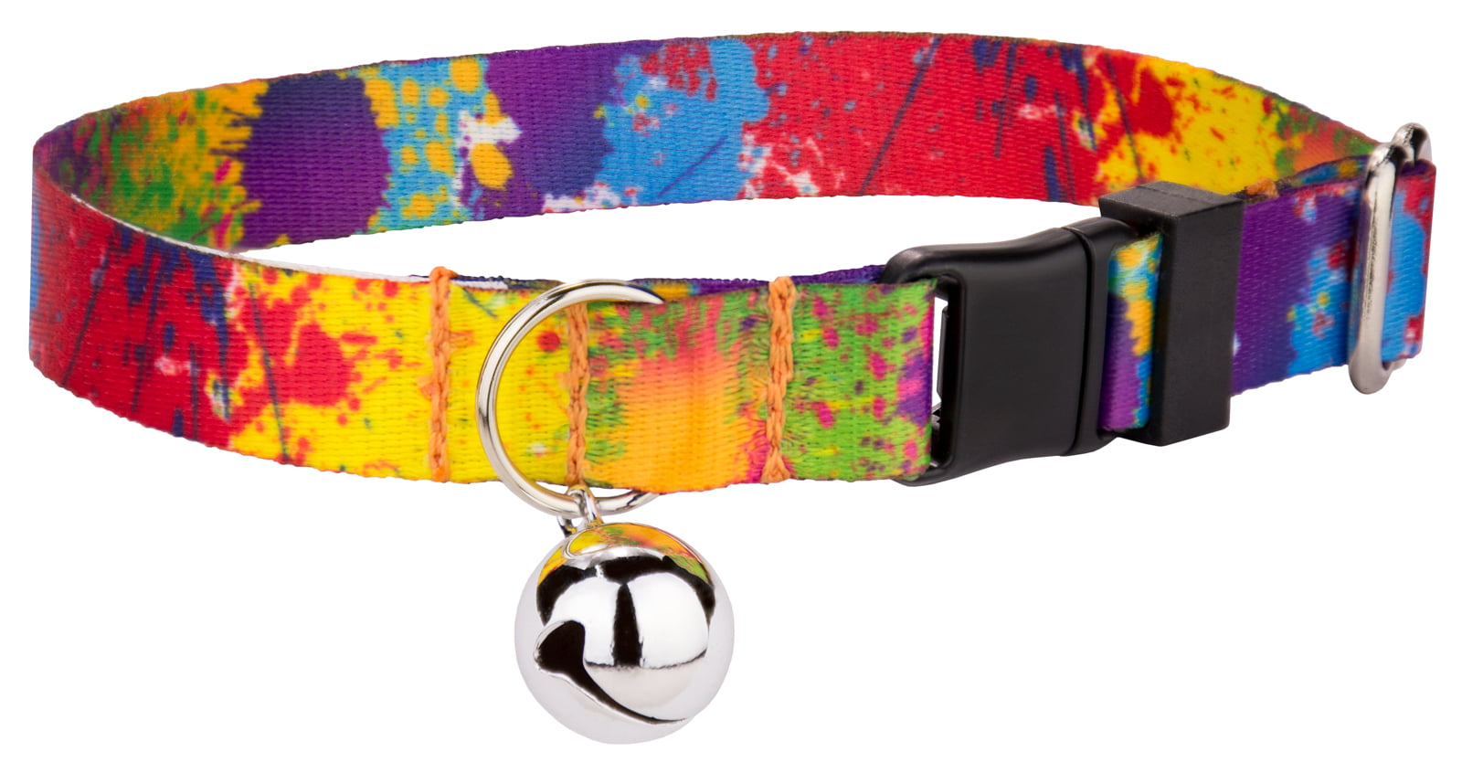 Country Brook Petz | Paint Splatter Cat Collar by Country Brook Design
