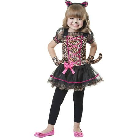 64d12d634041 Lovely Lil Leopard Toddler Halloween Costume - Walmart.com