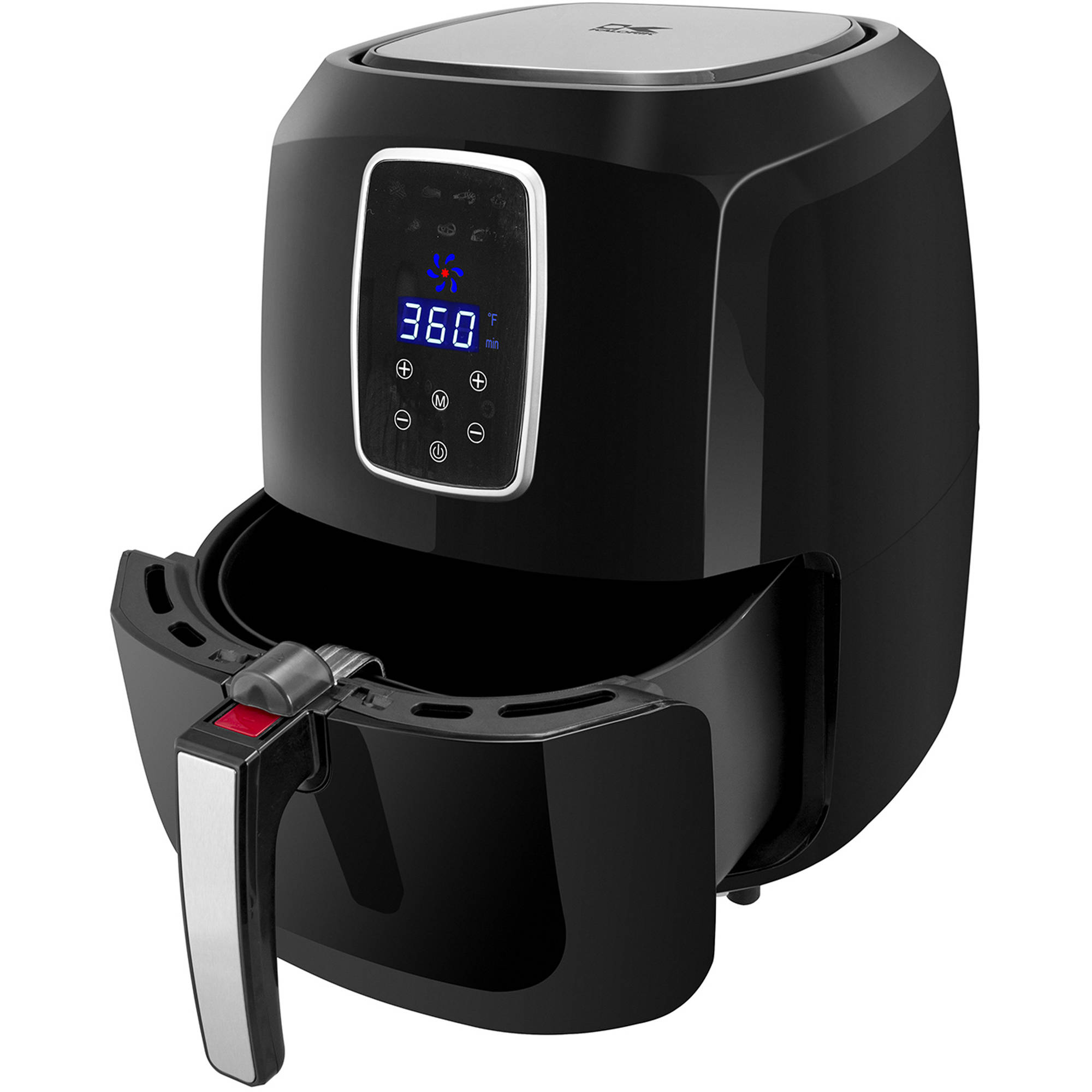 Kalorik Black and Stainless Steel XL Digital Family Airfryer