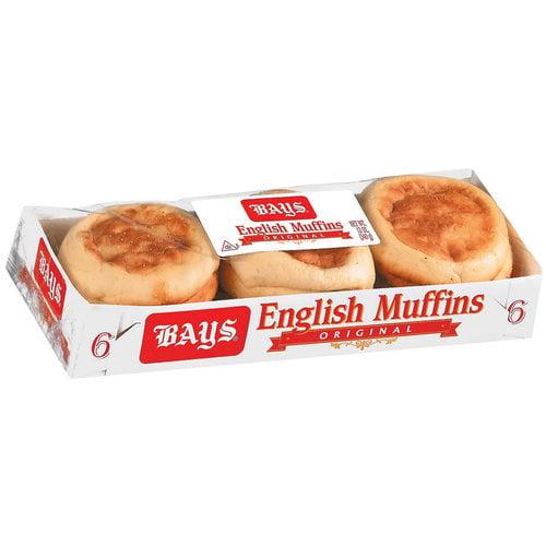 Bays: Original 6 Ct English Muffins, 12 Oz